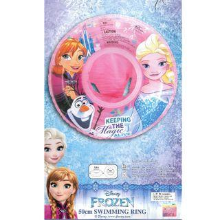 Disney Frozen Blue Colour Inflatable Baby Float Swimming Ring Seat