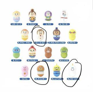 Toy Story 不倒翁 獨角馬 胡迪