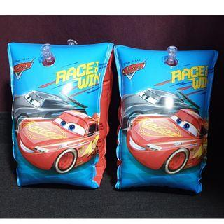 (Free normal postage) Disney Pixar Cars Inflatable Swimming Arm Band Float