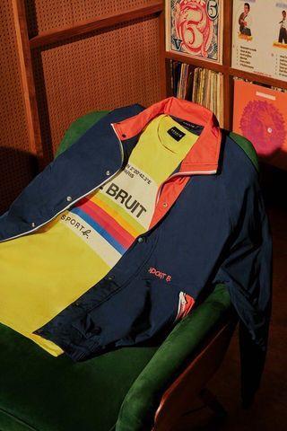Sport b. 立領風衣外套