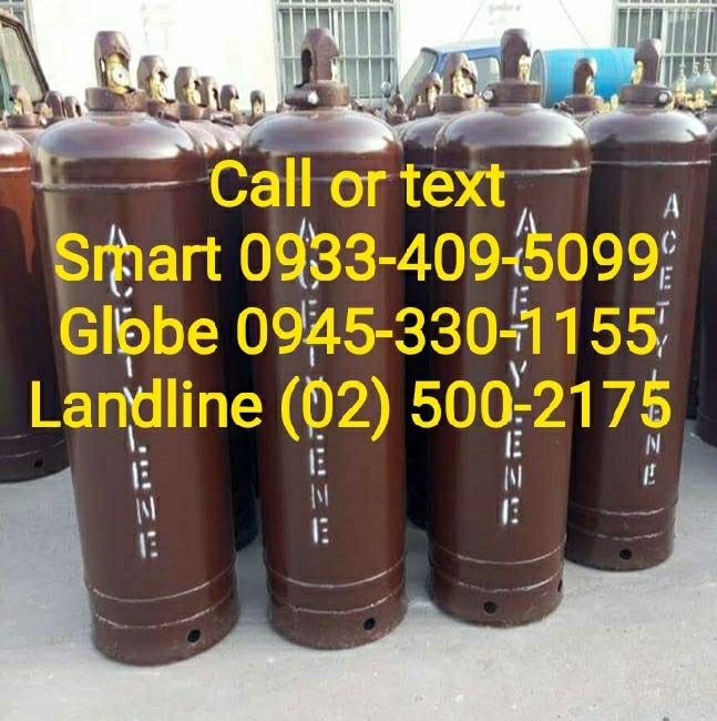 Acetylene tank 50 pounds tank Sale Rent Refill on Carousell