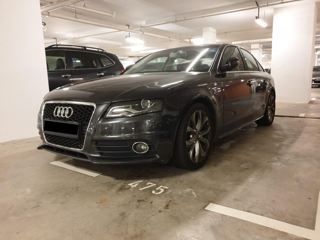 Audi A4 1.8 TFSI MU (NEW 5 YEAR COE)