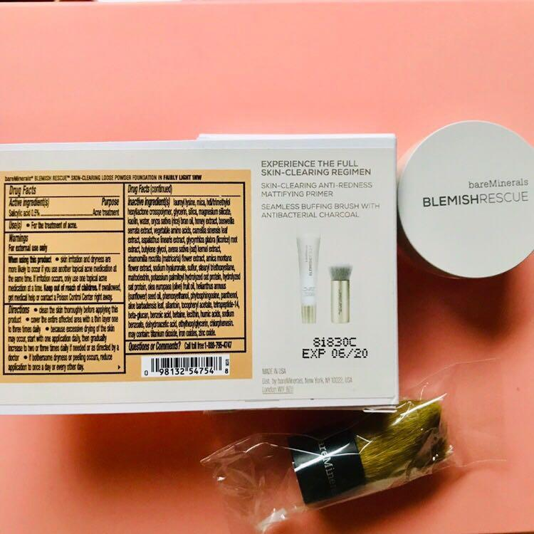BAREMINERALS Blemish Rescue Skin-Clearing Loose Powder Foundation SAMPLE