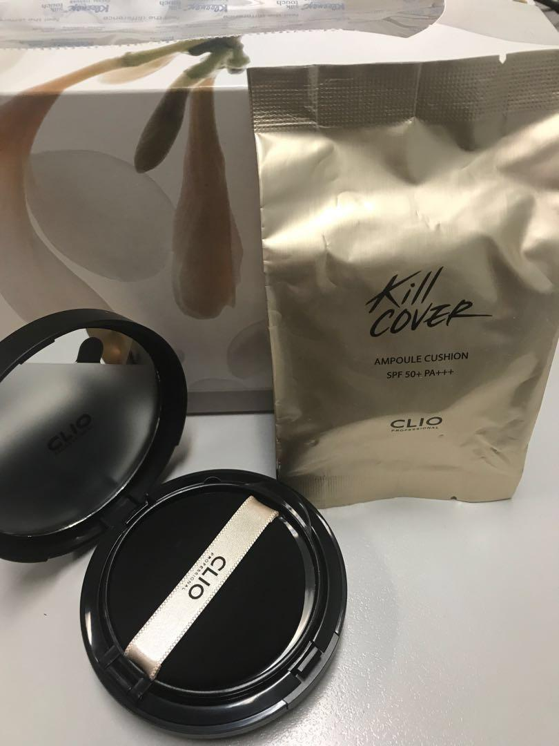 BN CLIO killer cover bb cushion (ampoule) spf 50* PA+++