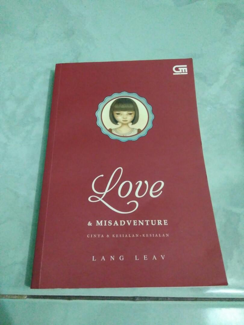 Buku Puisi Love A Misadventure by Lang Leav