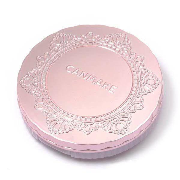 Canmake Translucent Finish Powder + Free Makeup Sponges