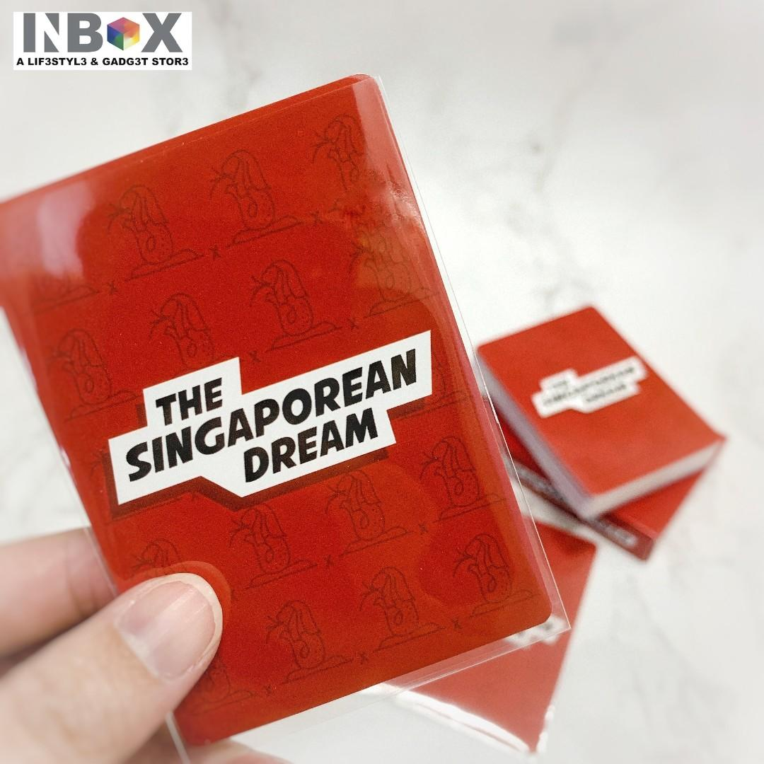 Card's Sleeves for The Singaporean Dream Cards (60pcs)