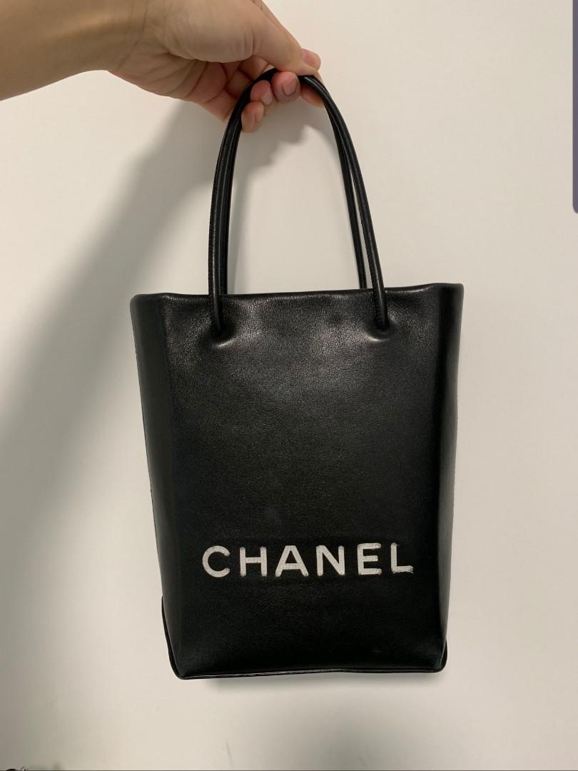 絕版罕有羊仔皮Chanel small tote bag 手袋