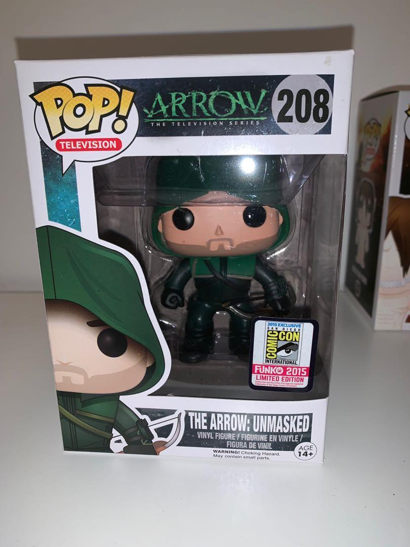 DC The Arrow Unmasked 2015 Comic Con Limited Edition Funko Pop Vinyl Figure