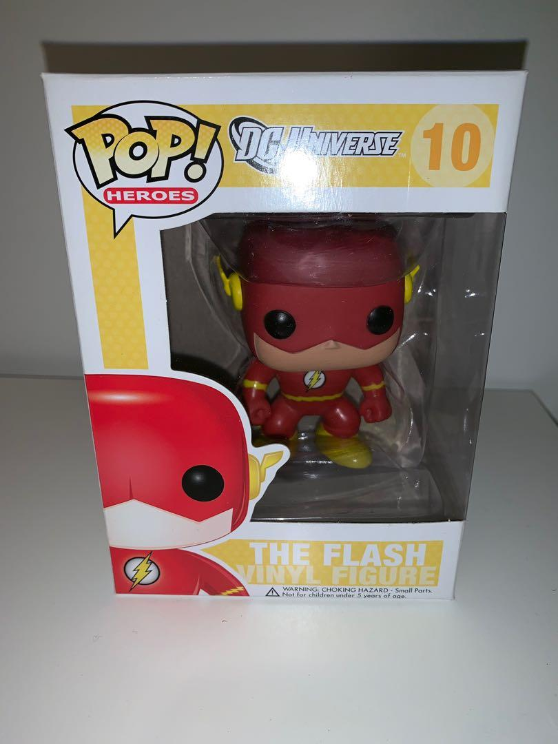 DC Universe The Flash Funko Pop Vinyl Figure (Original Yellow Box)