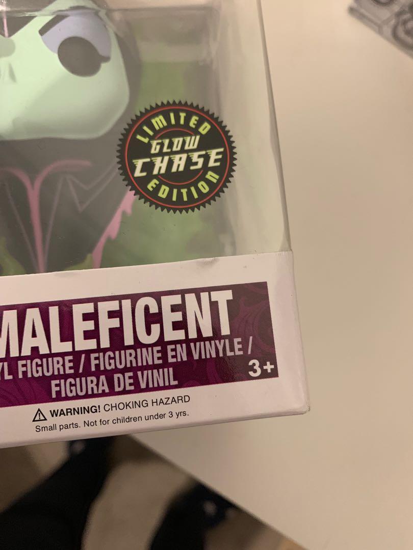 Disney Maleficent GITD Chase Funko Pop Vinyl Figure