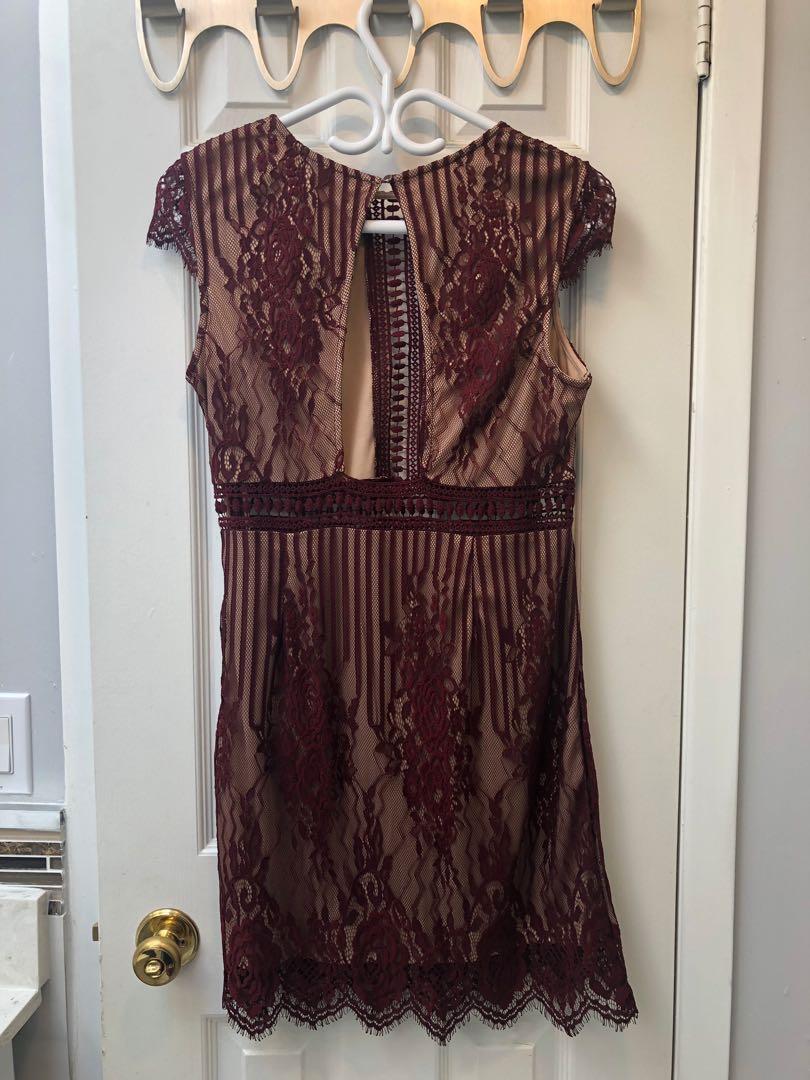 Forever 21 Dress - Burgundy