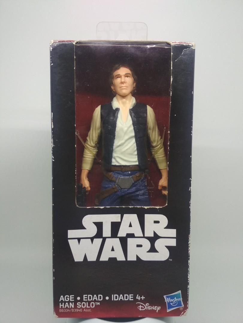 Han solo figure with blaster