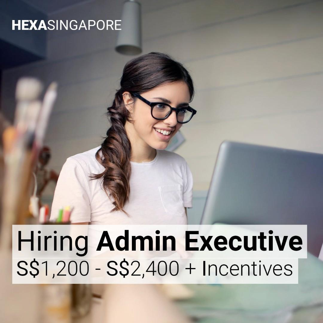 HEXA Hiring Admin Executive