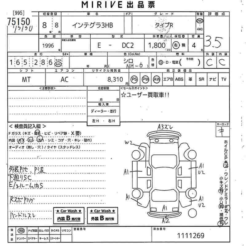 HONDA CIVIC TYPE-R DC2