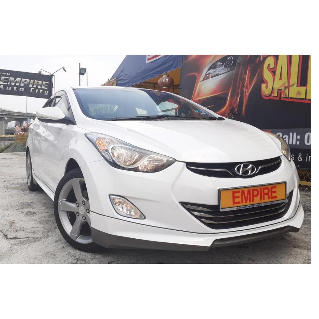 HYUNDAI ELANTRA 1.8 (A) GLS EDITION !! DOHC 16 VALVE !! NEW FACELIFT !! FULL BODYKIT / SUNROOF / KEYLESS ENTRY / PUSH START / REVERSE CAMERA / FULL LEATHER SEATS AND ETC !! PREMIUM FULL HIGH SPECS !! ( X 9563 X ) 1 CAREFUL OWNER !!