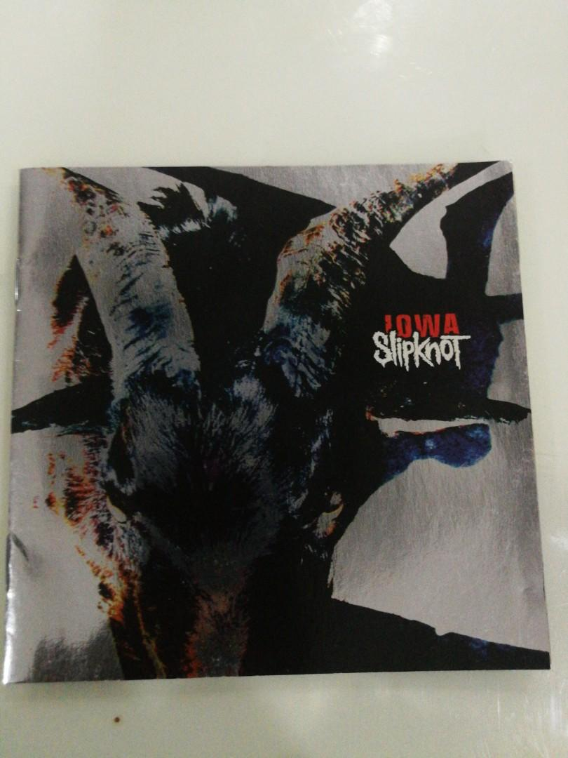 Imported Collectible CD: Slipknot: Iowa, Music & Media, CDs