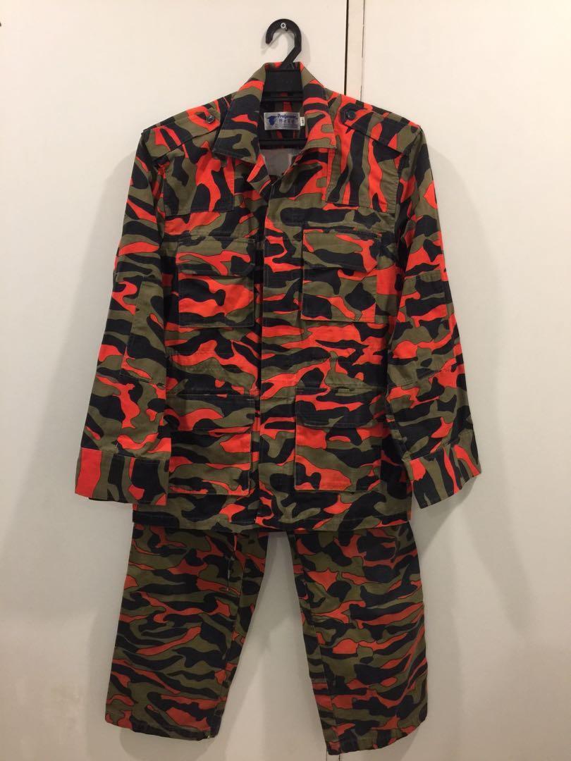 Kadet Bomba Full Uniform Men S Fashion Clothes Tops On Carousell