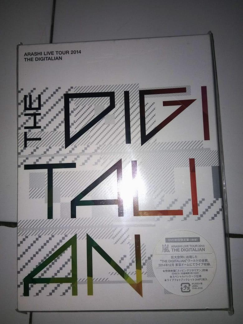 [Limited Edition] ARASHI The Digitalian Concert Tour 2014 DVD .. Isi 3 disc+booklet..