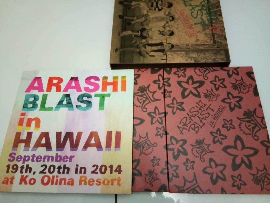 [Limited Edition] ARASHI BLAST in Hawaii DVD concert.. Isi 2disc+booklet