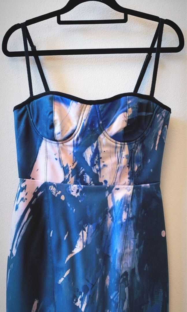 Manning Cartell Loaded with Music Print Dress Au: 8