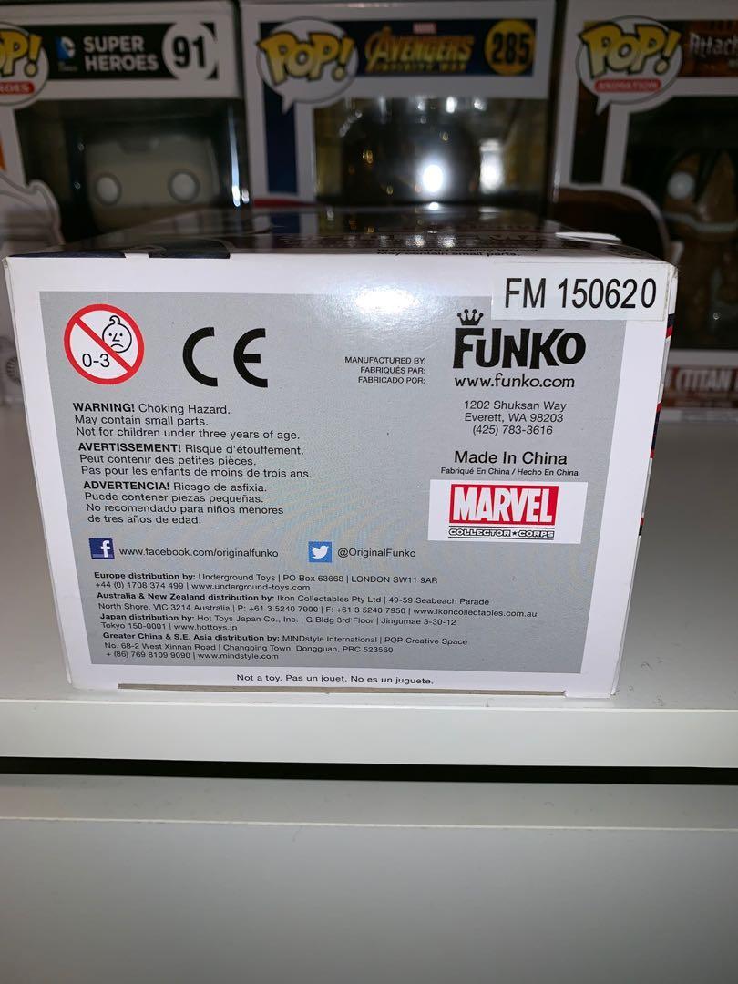 Marvel Miles Morales Spider-man Collector Corps Exclusive Funko Pop Vinyl Figure