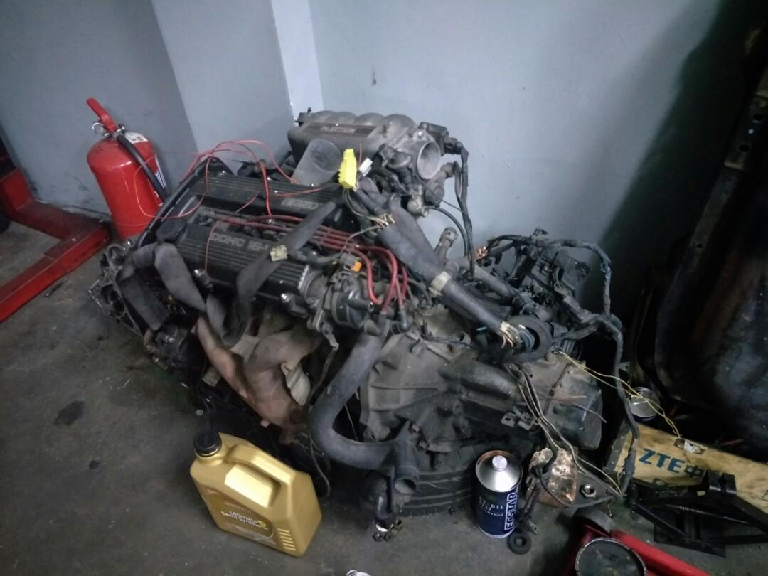 Mazda b6 engine, Auto Accessories on Carousell