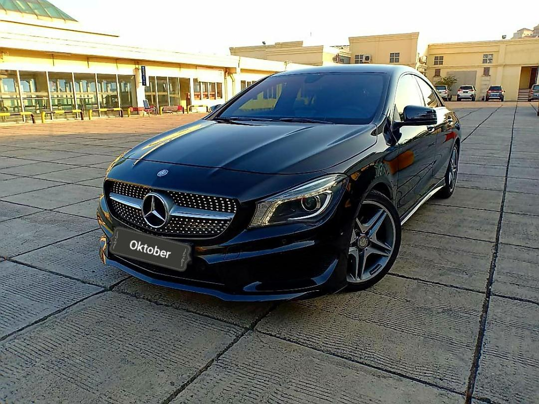 Mercedes Benz CLA200 AMG sport 2.0 At 2014 Good condition