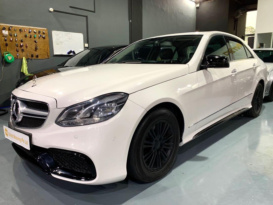 Mercedes-Benz E250 CGI BlueEfficiency Elegance Auto