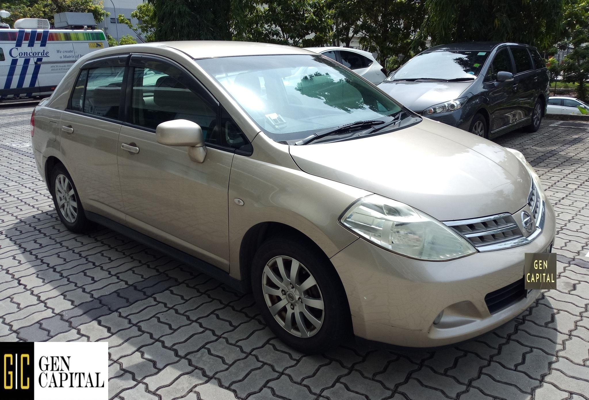 Nissan Latio *Lowest rental rates, good condition!