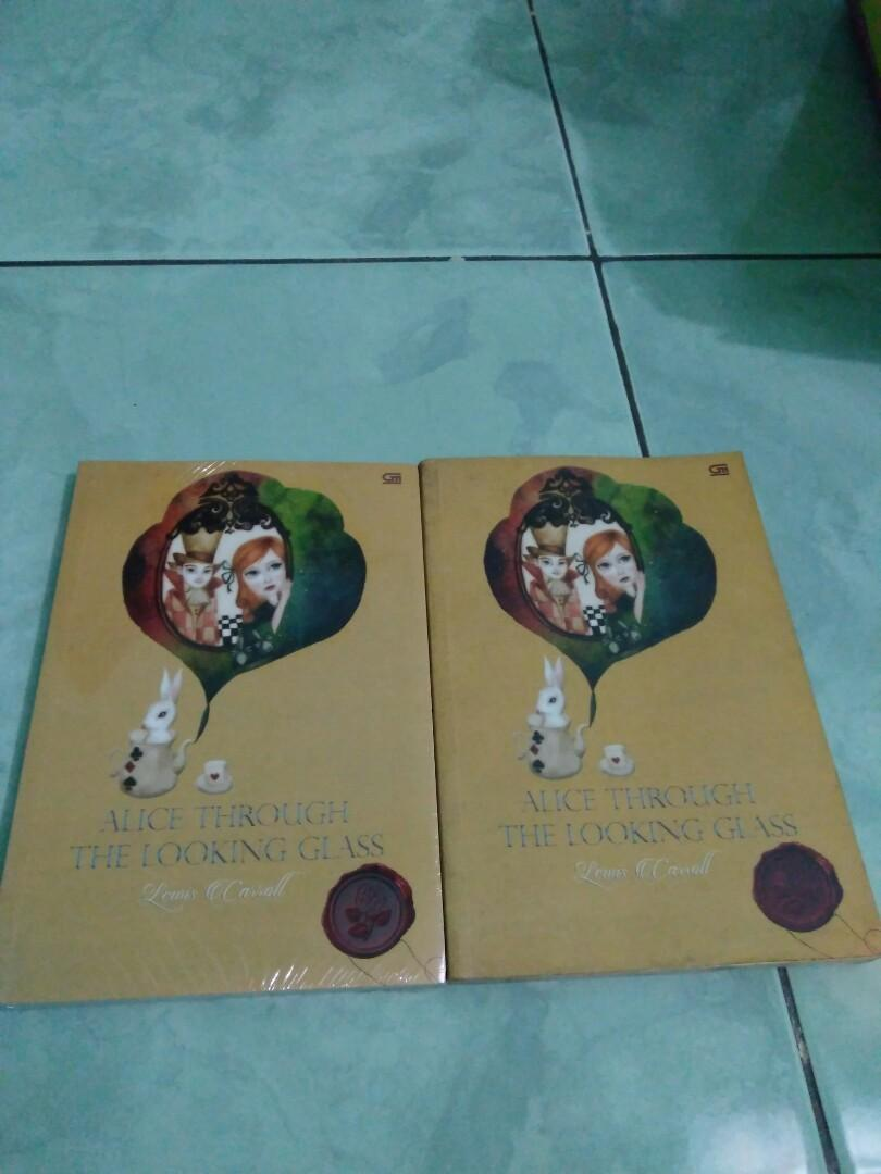 Novel Alice Through the Looking Glass by Lewis Carroll