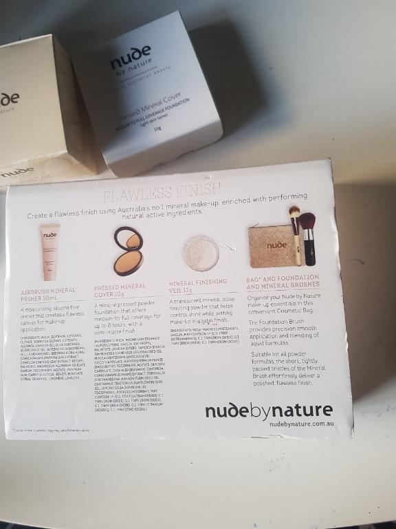 Nude By Nature Flawless Finish Complexion Pack. BNIB.