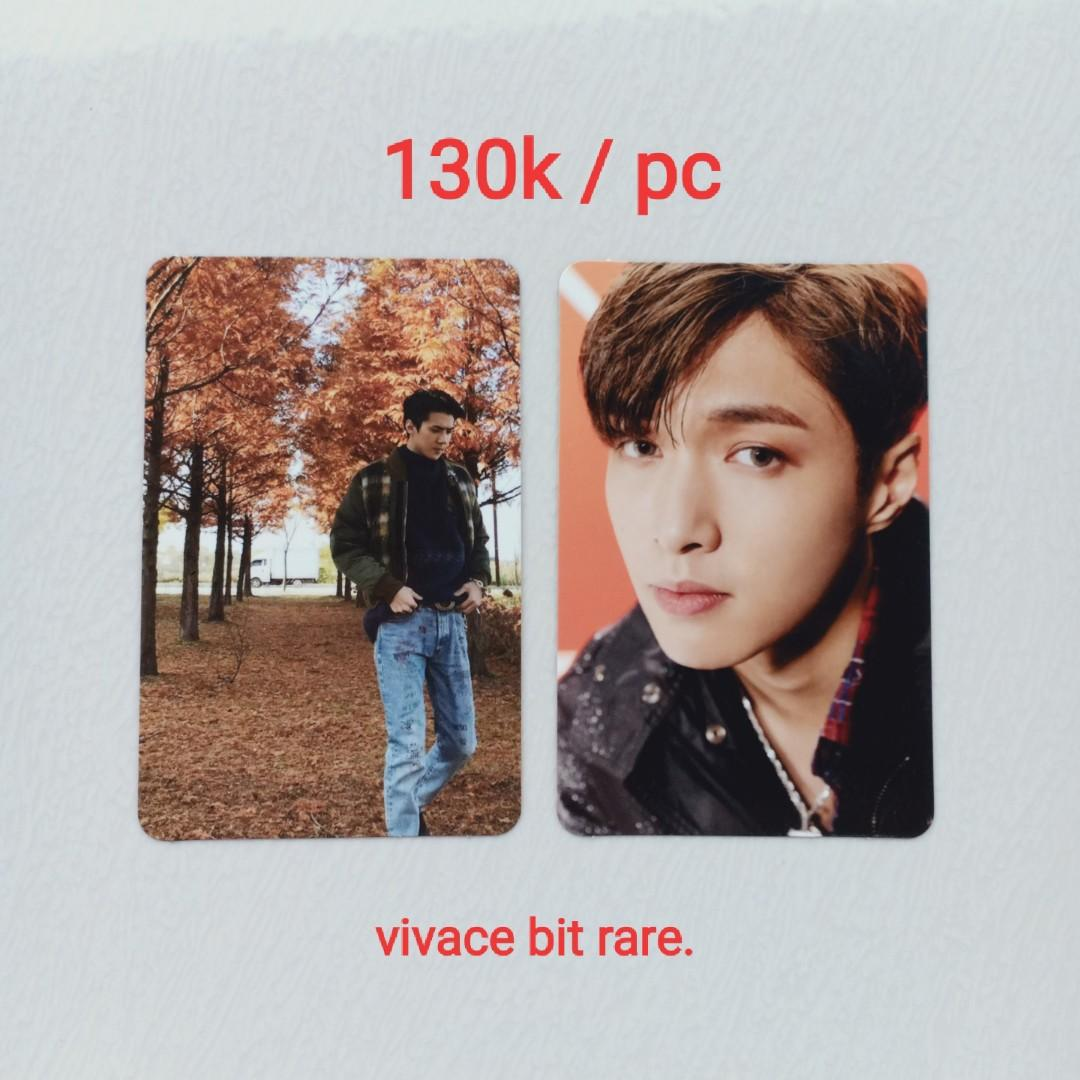 OFFICIAL PHOTOCARD EXO SEHUN / LAY FROM VIVACE LIMITED ALBUM