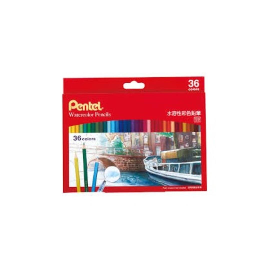 飛龍PENTEL CB9-36TW 水溶性色鉛筆36色組