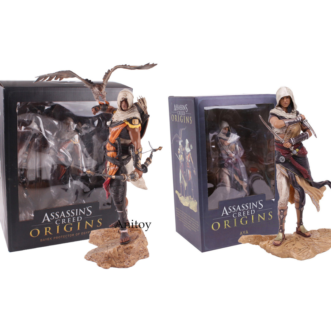 Playstation Ps4 Ubisoft Assassins Creed Origins Aya Bayek Statue