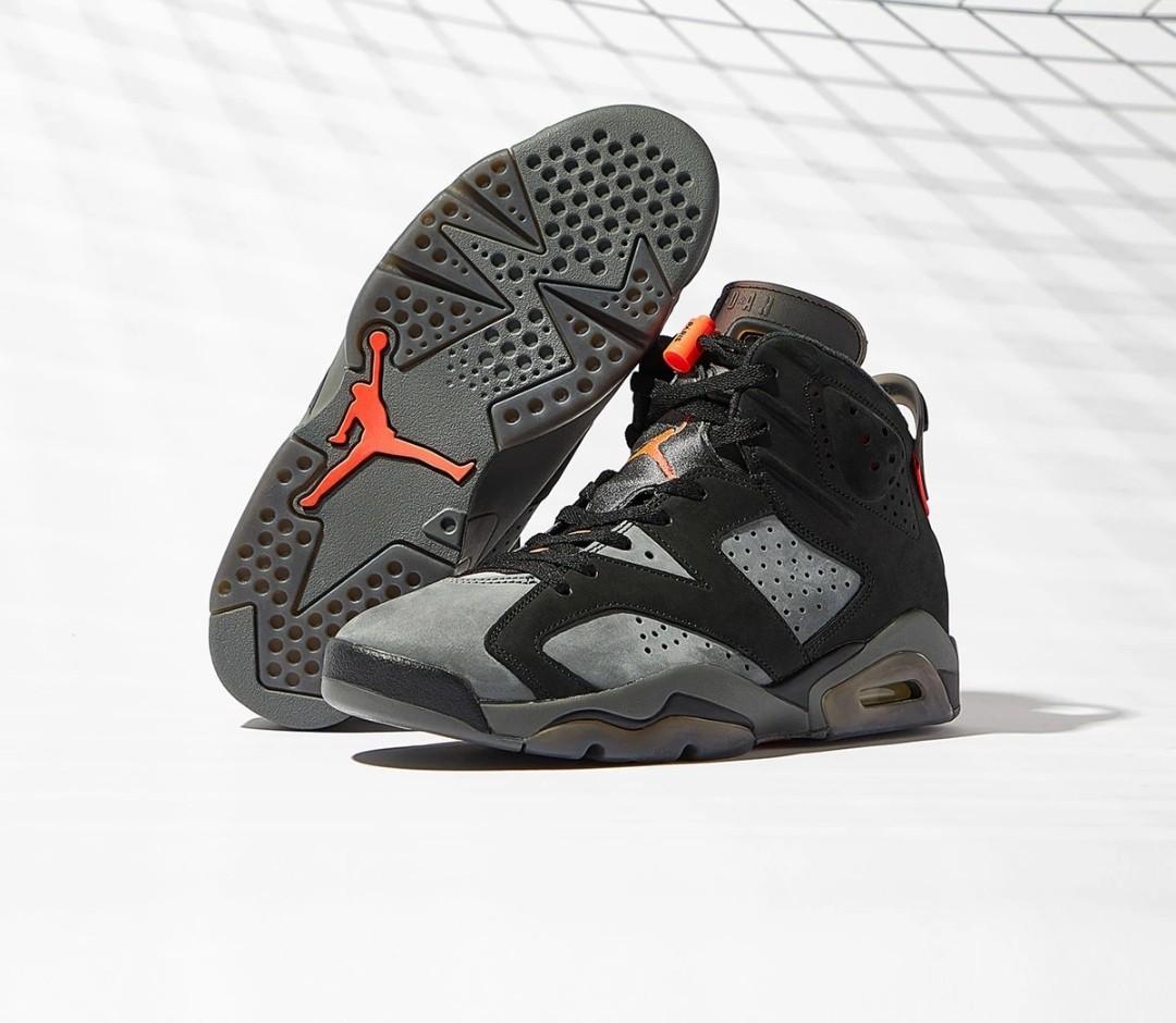 PO CLOSED Air Jordan X PSG 6 Retro, Men