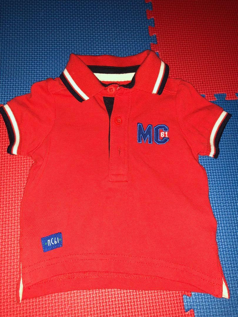 Polo Shirt bayi | Mothercare baby | reprice