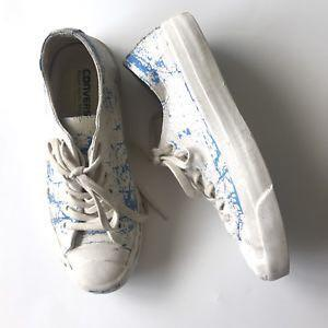 [RARE] Maison Martin Margiela x Converse Blue Low Cut Chucks