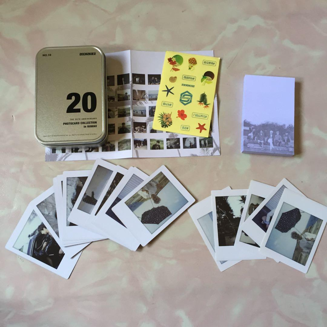 Sechskies 20th Anniversary Photocard Collection in Hawaii