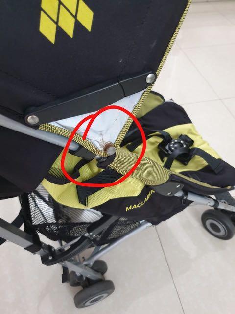 Stroller MACLAREN QUEST (preloved)