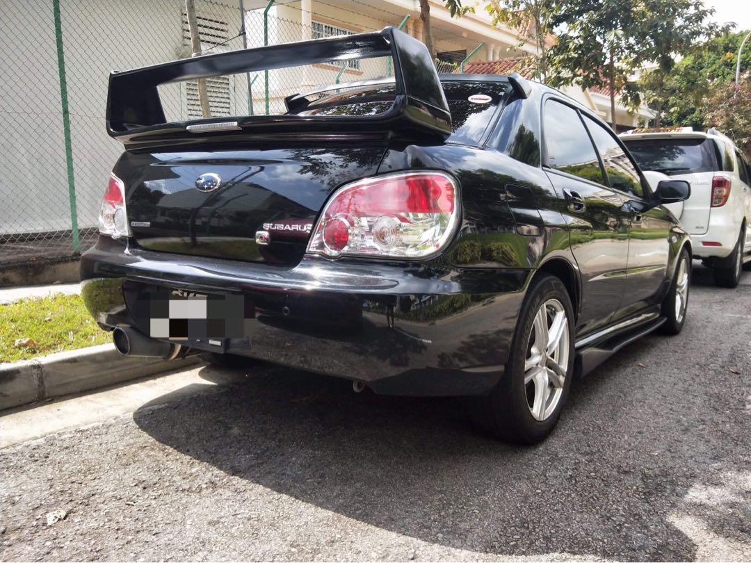 Subaru Impreza 1.6 4-Dr Auto