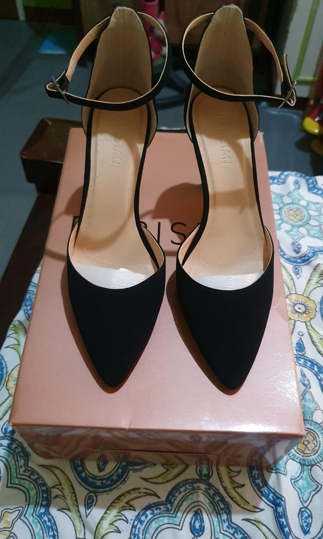 Suede sexy heels