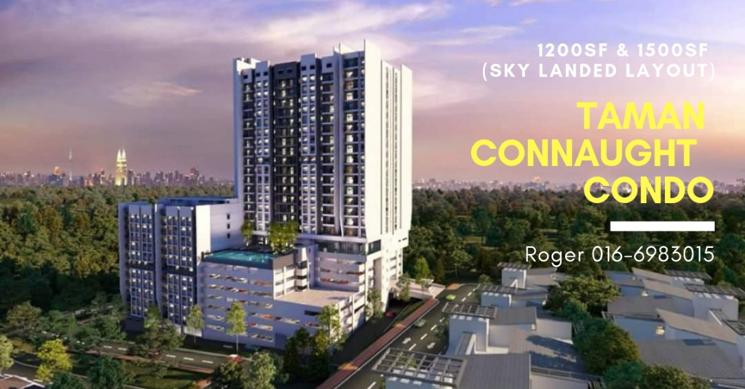 Taman Connaught Sky Landed House_Condo on Carousell