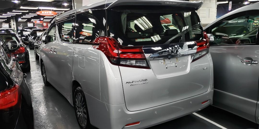 2017 TOYOTA ALPHARD 3.5 Executive Lounge