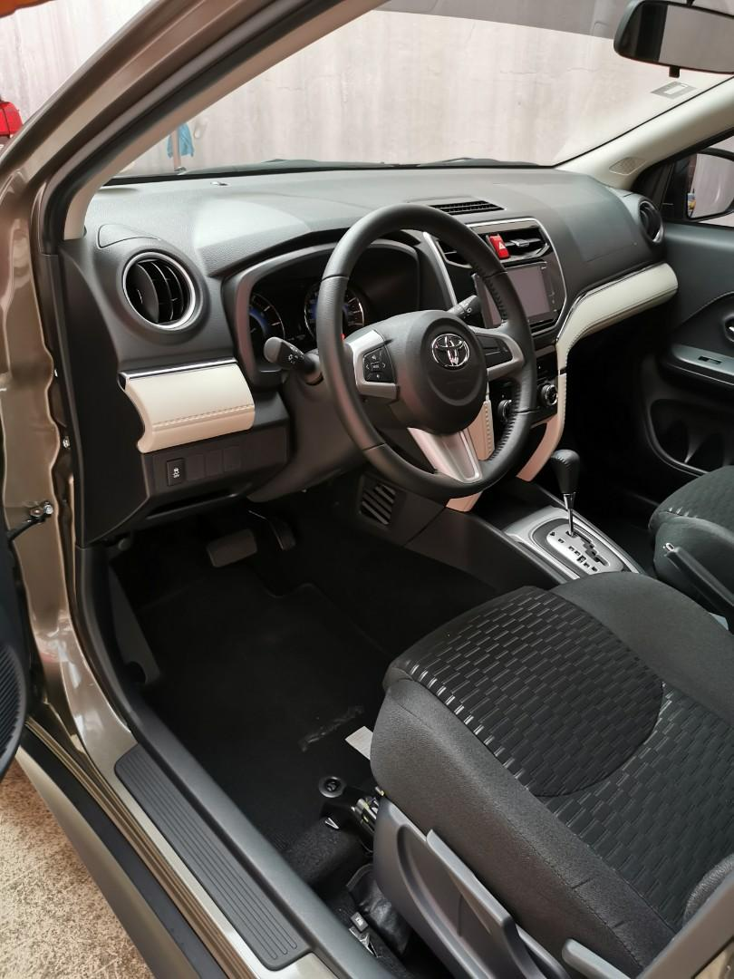 Toyota Rush G 2018 vs 2019 2017 2016 fortuner innova vios brv montero tucson crv avanza hiace accent everest civic mobilio xpander juke hilux navara wildtruck jazz