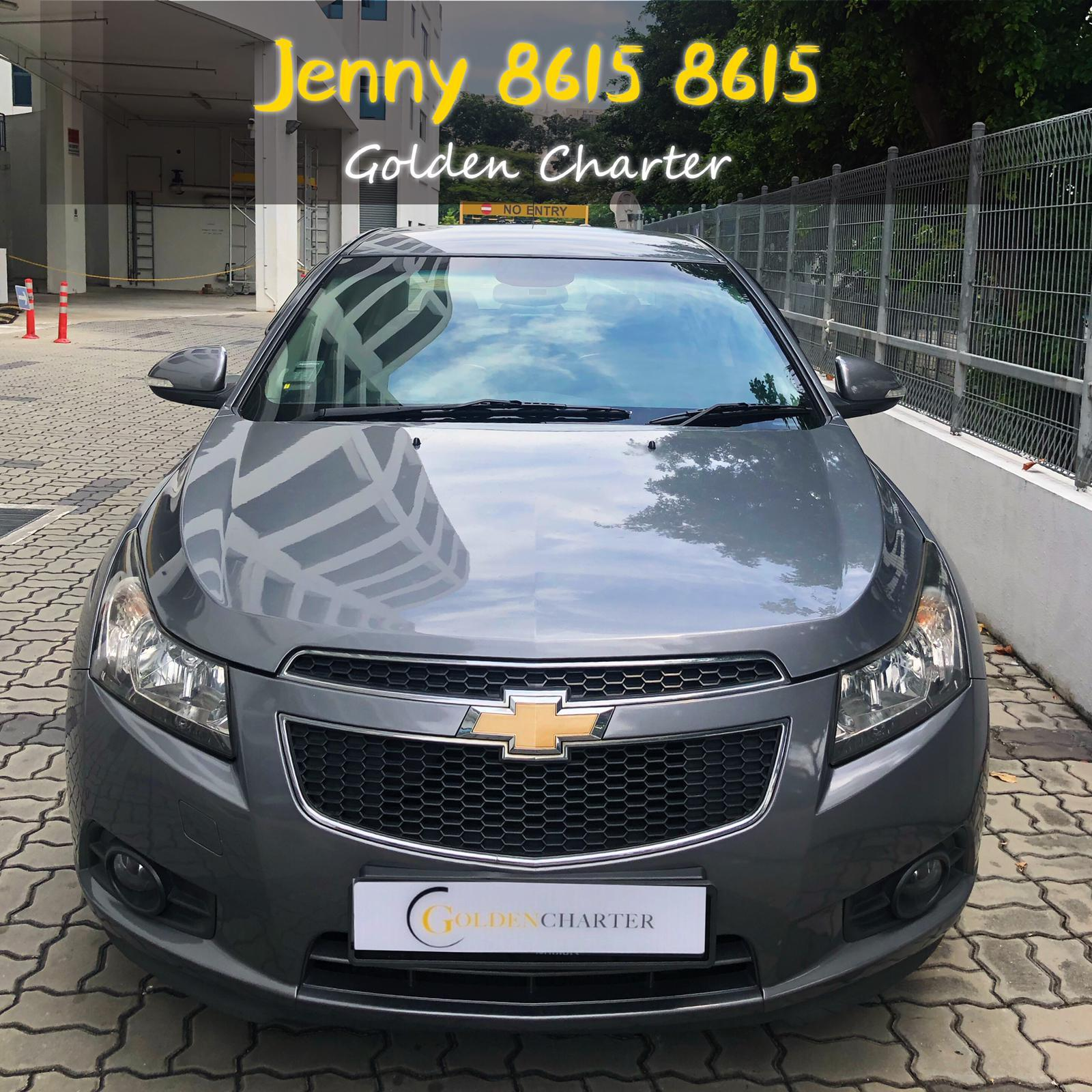 Chevrolet Cruze *TOP CONDITION* conti car for rent Altis Car Axio Premio Allion Camry Honda Jazz Fit Stream Civic Cars Hyundai Avante $50 perday PHV  For Rent Grab Rental Gojek Or Personal Use Low price and Cheap