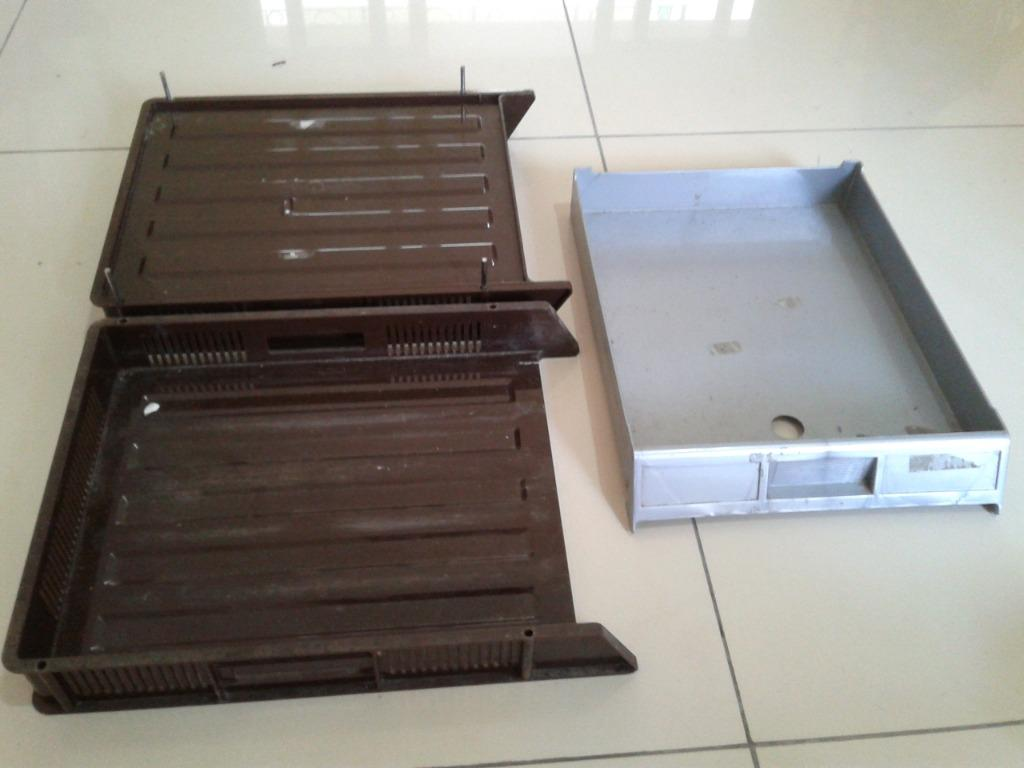 Tray Rak Dokumen Susun 2 / Paper Tray / Document Tray 2 Tier