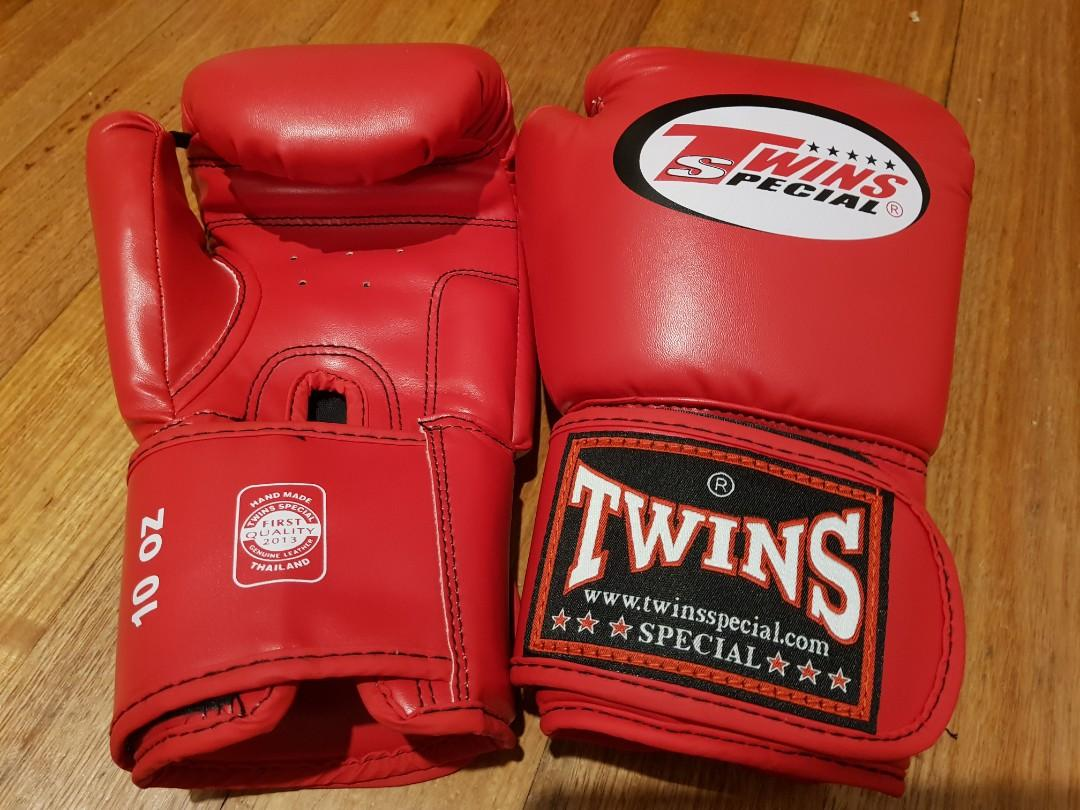 Twins boxing gloves 10oz - brand new never used