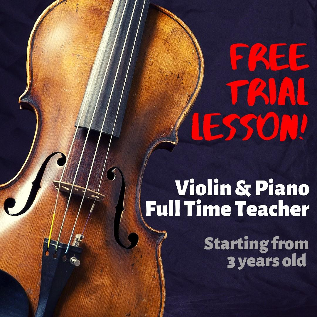 Violin & Piano lesson (north/west)