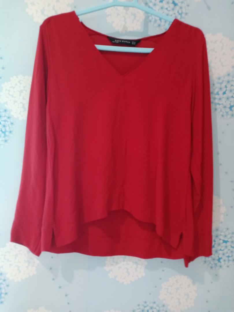 Zara atasan red